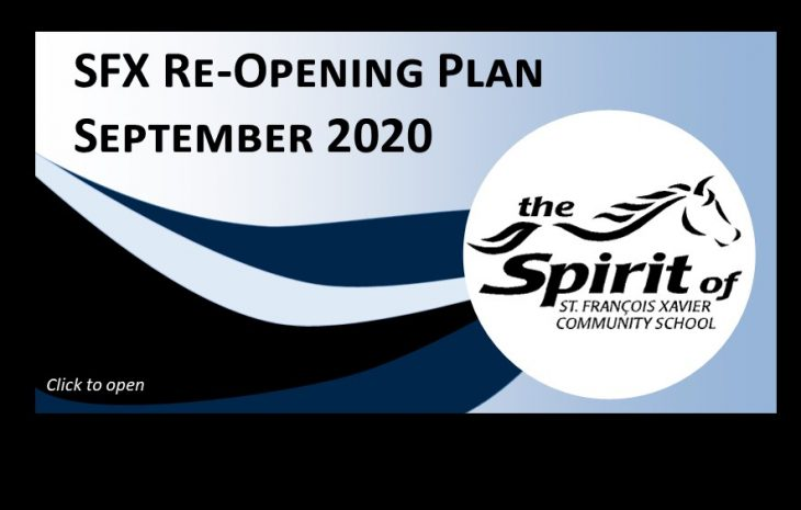 SFX Reopening Plan